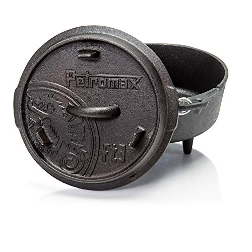 Petromax Camp-Kitchen PE Dutch Oven FT3 Black