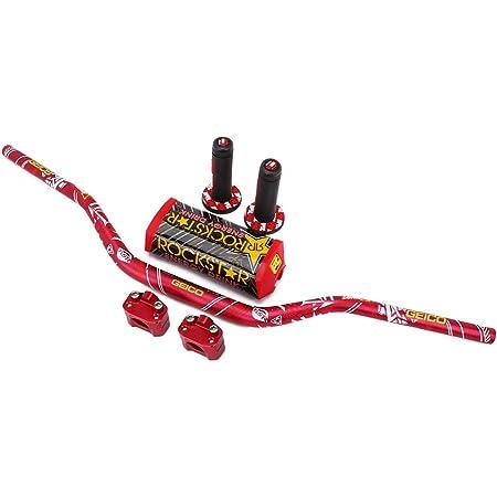 CR85 CR80 CR500R CRF150R CR250R CRF50 Colore Rosso CRF150R CRF110 AnXin 2 manopole per Manubrio Moto da 7//8 in Gomma Antiscivolo Universale per Moto da Cross CR125R