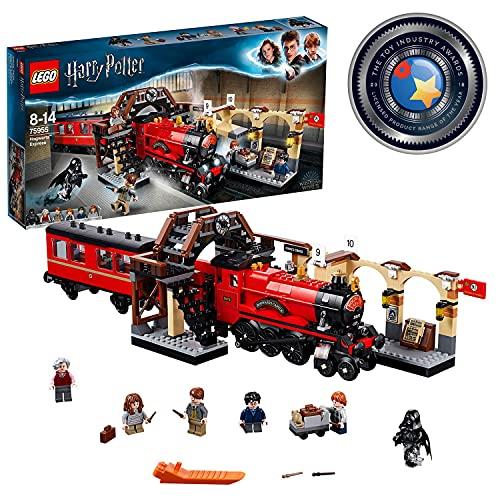 LEGO 75955 HarryPotter LePoudlardExpress, Cadeau de Fan du Monde Sorcier, Ensembles de Construction pour Enfants