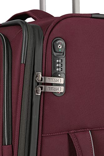 TITAN NONSTOP 4 Rad Trolley S, Anthracite, 382406-04 Bagage cabine, 55 cm, 39 liters, Gris (Anthracite)