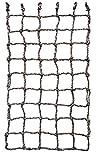 Aoneky Filet à Grimper pour Cadre en Bois- Filet d'escalade Coloré - Jeux d'escalade pour Enfants et Adultes (100×180cm)