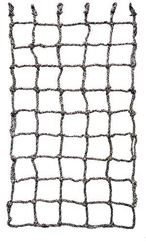 Aoneky Filet à Grimper pour Cadre en Bois- Filet d escalade Coloré - Jeux d escalade pour Enfants et Adultes (100×180cm)