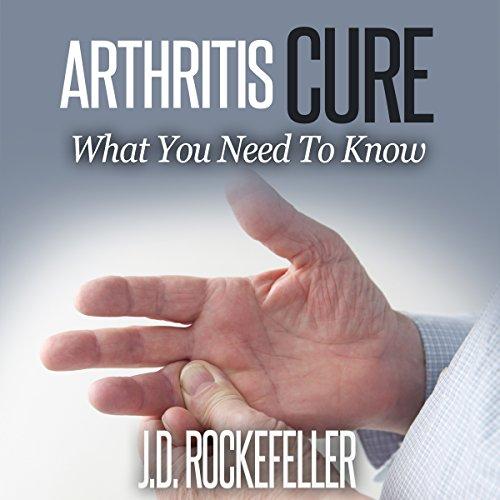 Arthritis Cure audiobook cover art