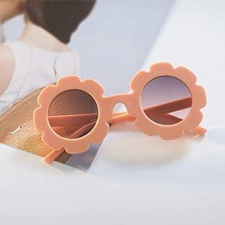 N/ A - N/ A Gafas De Sol para Niños Gafas De Sol para Niños Flor RedondaBebés Gafas De Sol Deportivas para Niños Niñas Niños