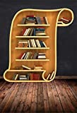 Backdrops For Photography Old Wooden Bookshelf For Books Library Study Home Decor Photo Backgrounds Photo Studio A6 3x3m