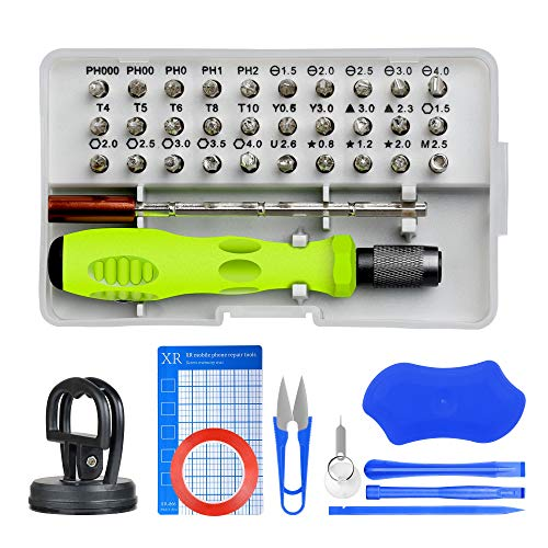 Electronics Repair Tool for Repairing Phones Magnetic Driver Kit with 30 Small Screwdrivers Computers Watches Multi-Function Small Screwdriver Set