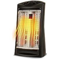 Black+Decker BHTI06 Infrared Radiant Quartz 1500W Tower Heater