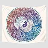 jtxqe Tapiz Decorativo Manta Toalla de Playa Mantón Estera de Yoga Estera de Yoga Estera de Yoga Estera de Yoga 150x200cm