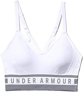 حمالة صدر رياضية بخط طويل متقن للنساء من اندر ارمور - القياس، اللون