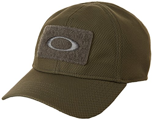 Oakley mens Si Cap Hat, Worn Olive, Large-X-Large US