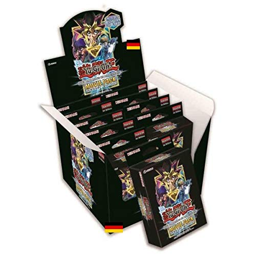 Konami - Movie Pack Secret Edition - 1 Display - 10 Boxen - The Dark Side of Dimensions - Yu-Gi-Oh! - Deutsche Ausgabe - mit GECO Spielmatte