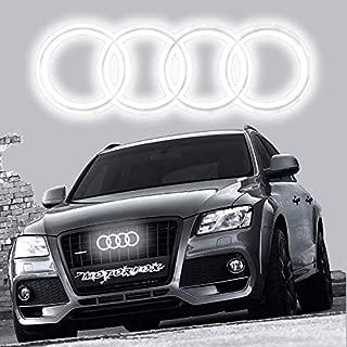 Audi a2 tipo 8z cromo las molduras para calandra abajo 3m Tuning