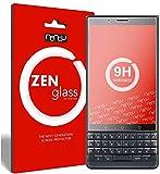 ZenGlass [2Stück Flexible Glas-Folie kompatibel mit BlackBerry Key 2 LE Panzerfolie I Bildschirm-Schutzfolie 9H I (Kleiner Als Das Gewölbte Bildschirm)