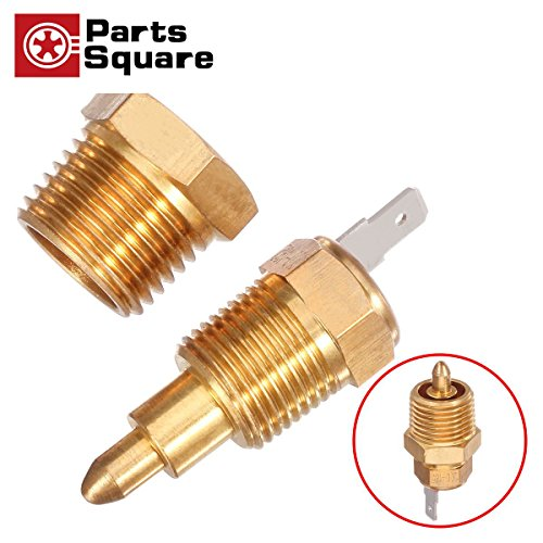 "PartsSquare 185 TO 200 DEGREE ELECTRIC ENGINE COOLING FAN THERMOSTAT SWITCH 3/8"" pipe thread NPT"