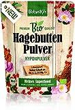 Bio Hagebuttenpulver 1kg - als Beitrag für die normale Immunsystemfunktion und für die gute Muskel- und Knochenfunktion, Reich an natürlichen Vit. und Mineralien, Hagebuttengranulat BotaniKils