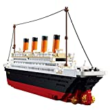 SuSenGo Titanic Building Block Kit 1021 Pcs