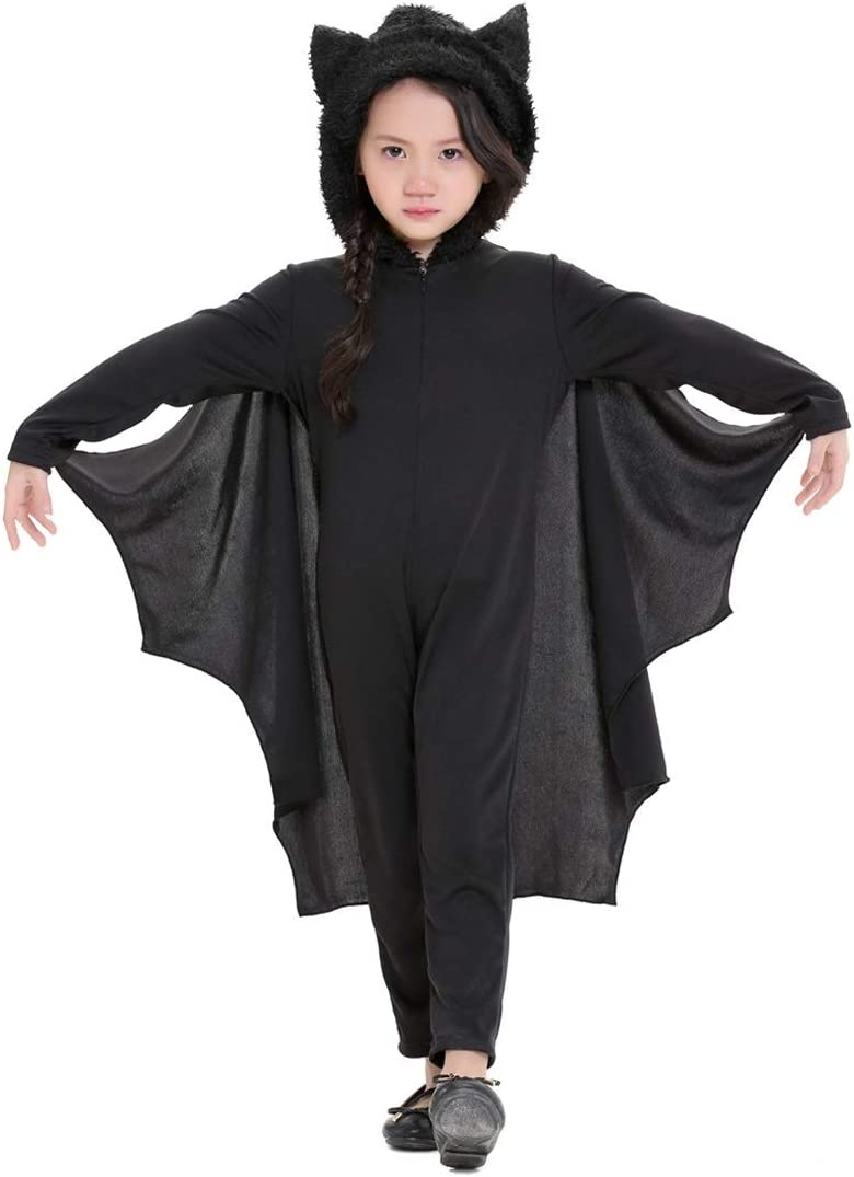 Dmtrab for Halloween Bat Jumpsuit Stage Kids Costume Ranking TOP5 Perfor Attention brand