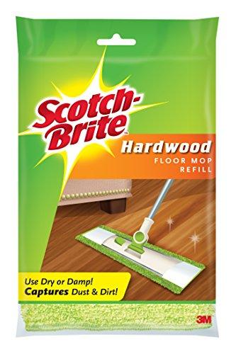 3M Scotch-Brite Trapeador de Microfibra para Piso, Repuesto, 1, Verde