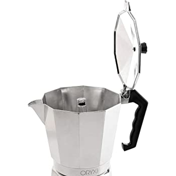 Oryx 5056011 Cafetera Aluminio 3 Tazas, 150 ML: Amazon.es: Hogar