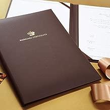 ファルベ 結婚証明書 クラウン(チャペル式用)