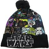 Star Wars Sublimated Comic Book Print Cuff Pom Beanie Hat