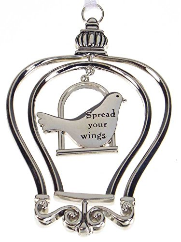 """""""3D"""" Birdcage Ornament - Spread your wings"""