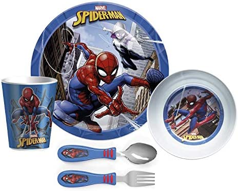Zak Designs Dinnerware Set Includes Plate Bowl Tumbler and Utensil Tableware Made of Durable product image