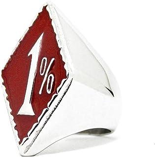 صندوق مجوهرات 1% خاتم راكب الدراجة النارية، خاتم راكب الدراجة النارية في المئة الخارجة عن العلاقة، خاتم نادي الدراجات النارية