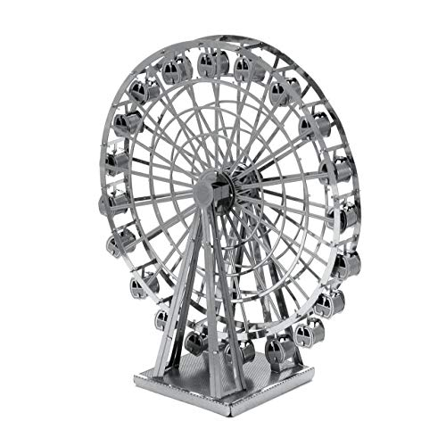 Fascinations Metal Earth MMS044 - 502630, Ferris Wheel, Konstruktionsspielzeug, 2 Metallplatinen, ab 14 Jahren