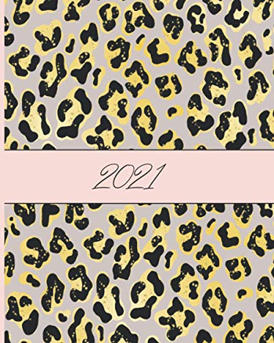 2021: Goal Planner for Women, Productivity Planner Monthly, Weekly, Daily. Gift Idea for Women.