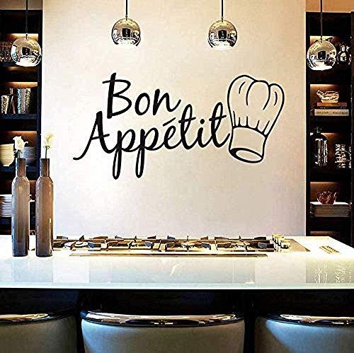 Etiqueta de la pared de la herramienta de la cocina para la decoración del comedor del restaurante de la cocina 30X60Cm PVC extraíble impermeable