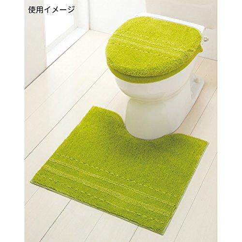 セシール『トイレふたカバー特殊型アップルグリーン』