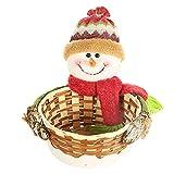 Caramelo de la Navidad Cesta del almacenaje de Cookies Soporte de Producto a Santa Claus muñeco de Nieve Animal de Navidad Caramelo de la Fruta de contenedores