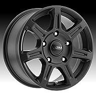 ULTRA 450SB TOIL VAN Black Wheel Satin Clear-Coat (0 x 6.5 inches /5 x 160 mm, 45 mm Offset)