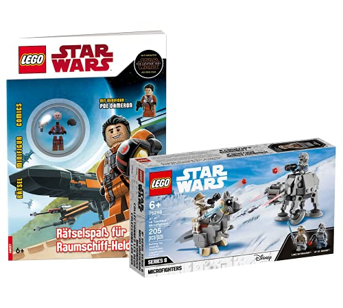 Collectix Lego 75298 Star Wars at-at™ vs. Tauntaun™ Microfighters 75298 + Lego...