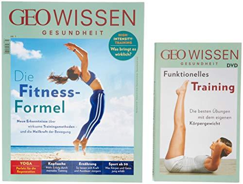 GEO Wissen Gesundheit / GEO Wissen Gesundheit mit DVD 7/18 - Die Fitness-Formel: DVD: Bodyweight Training - Die besten Übungen & Workouts mit dem eigenen Körpergewicht