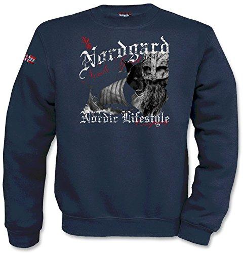 NORDGARD Sweatshirt/Pulli Nordic Spirit Sweatshirt für Damen und Herren des Modelabels (XL)
