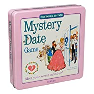 Mystery Date Classic Board Game With Nostalgic Tin Case