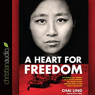 A Heart for Freedom audiobook cover art