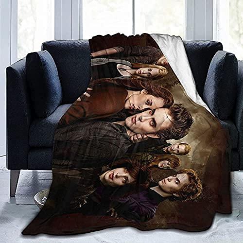 PEACLOUD The Twilight Saga - Manta para cama de vampiro Edward Isabella Marie, manta de franela de...