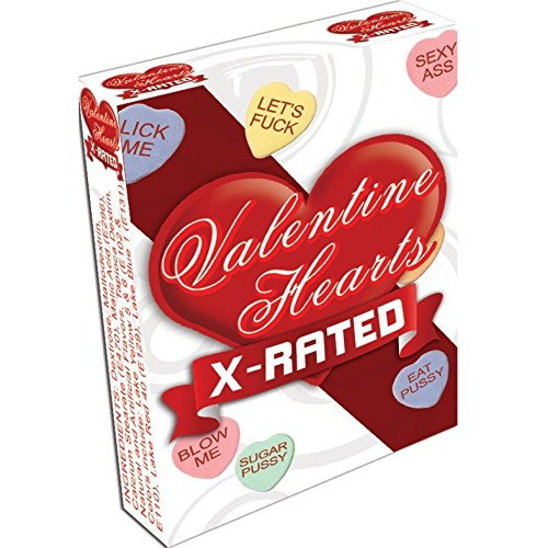Valentine Hearts Naughty Adult Conversation Heart Candies