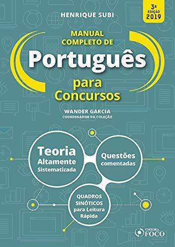 Manual completo de português para concursos - 3ª edição - 2019
