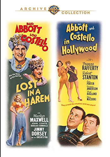 LOST IN A HAREM / ABBOTT & COSTELLO IN HOLLYWOOD - LOST IN A HAREM / ABBOTT & COSTELLO IN HOLLYWOOD (1 DVD)