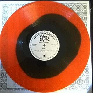 CHULAHOMA SONGS OF JUNIOR KIMBROUGH ORANGE BLACK VINYL