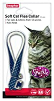 Comfortable fabric collar Up to 4 months effective Elastic safety link For cats & kittens from 12 weeks of age