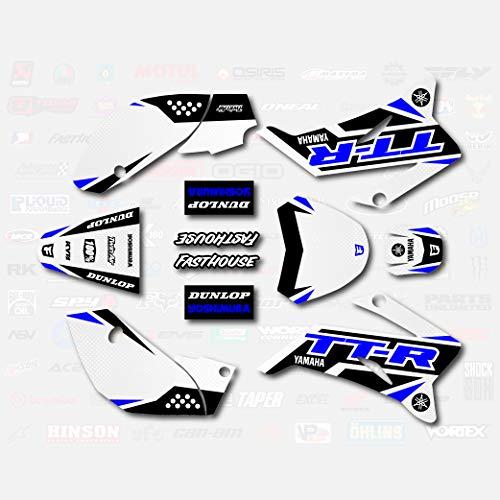 Blue Shift Racing Graphics fits 2008-2019 YAMAHA TTR110 Sticker TTR 110 08-19
