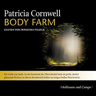 Body Farm audiobook cover art