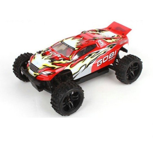 Amewi 22105 – Mini Monster Truck, échelle 1 : 18/2.4 GHz//4 WD RTR