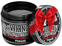 Extreme Hold Pomade for Men – Style & Finish Your Hair - Extra Firm,Strong Hold & High Shine for Men's Styling Support - Water Based Male Grooming Product is Easy to Wash Out, 4oz