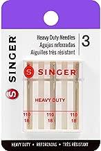 SINGER Sewing Machine Needles, 1-Pack, Size 18 3/Pkg